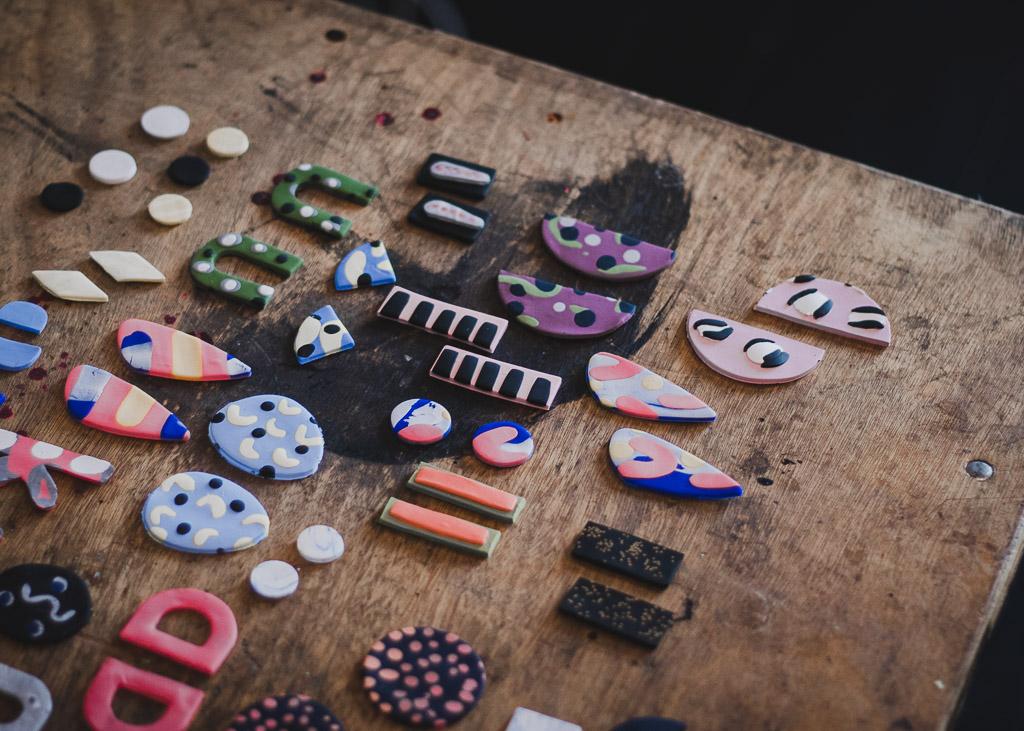 Workshop Review | Polymer Clay Earrings with Kelaoke